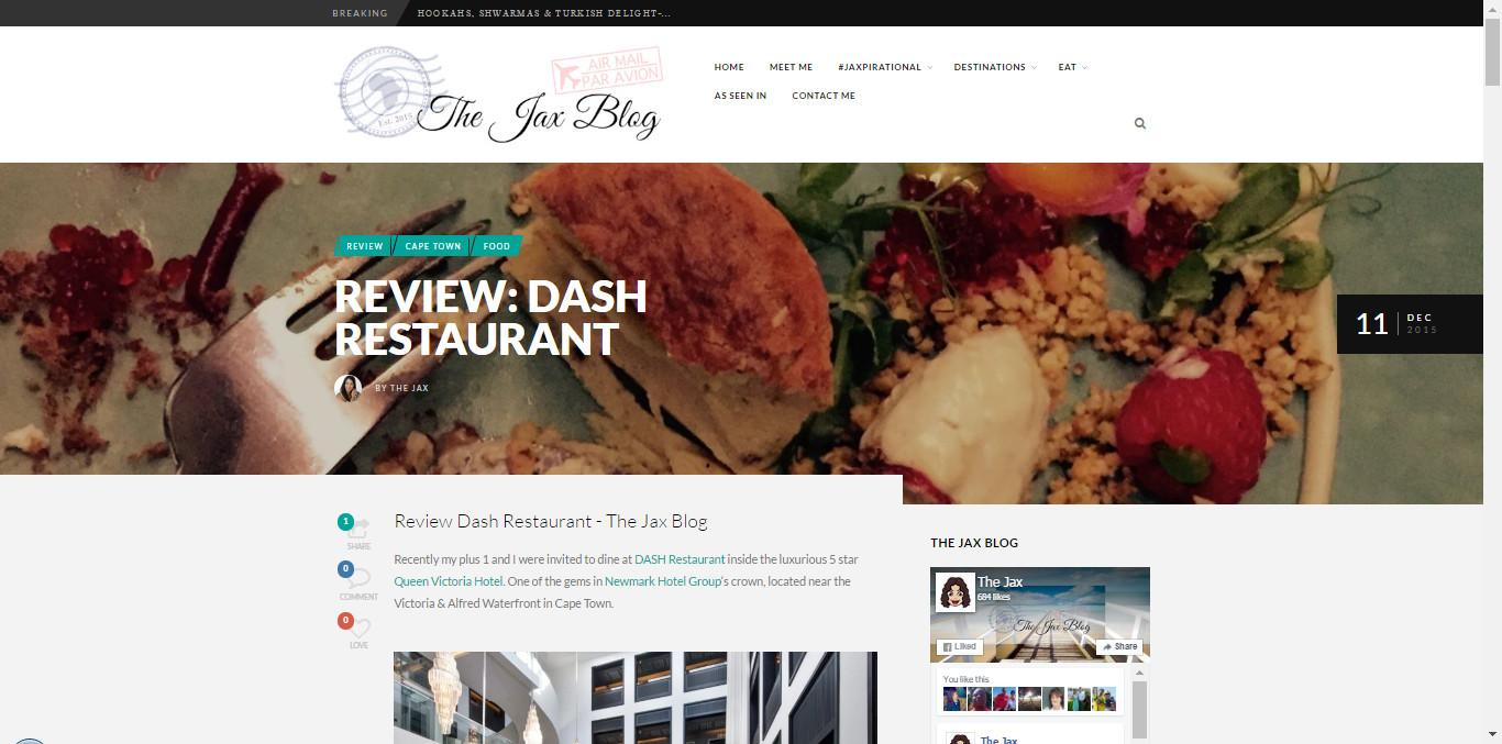 Wired Communications - Dash Restaurant